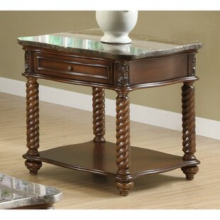Belhaven Wooden End Table with Storage