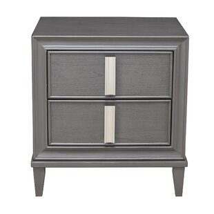 Winchester 2 Drawer Nightstand by Orren Ellis