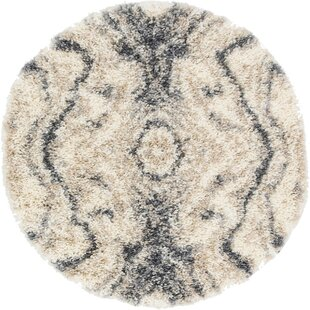 Fan Gray Area Rug by George Oliver