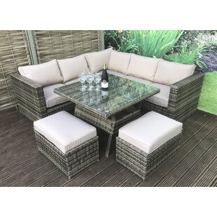 6 Seater Dining Set With Cushions By Lynton Garden
