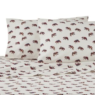 Mountain Bears 100% Cotton Sheet Set