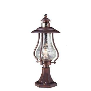 Cogan 1-Light Pedestal Light By Sol 72 Outdoor