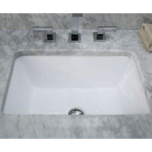 Modern Rectangular Undermount Bathroom Sink Wayfair