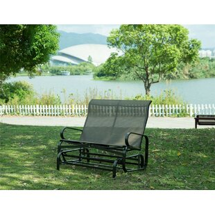 Rollison Outdoor 2 Person Glider Bench by Red Barrel Studio