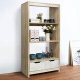 Kuhns Three Shelf Standard Bookcase by Ivy Bronx