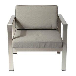 Wade Logan Jada Deep Seating Chair with C..