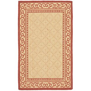 Bexton Red/Natural Indoor/Outdoor Area Rug Set (Set of 2)