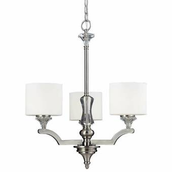 Latitude Run Geoffroy 12 Light Shaded Drum Chandelier Wayfair