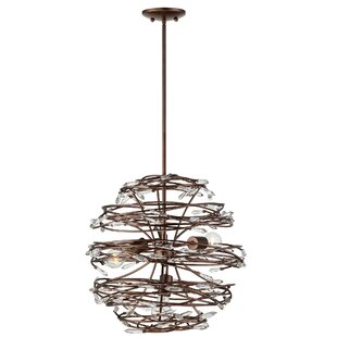 Brayden Studio Jurgens 3-Light Pendant
