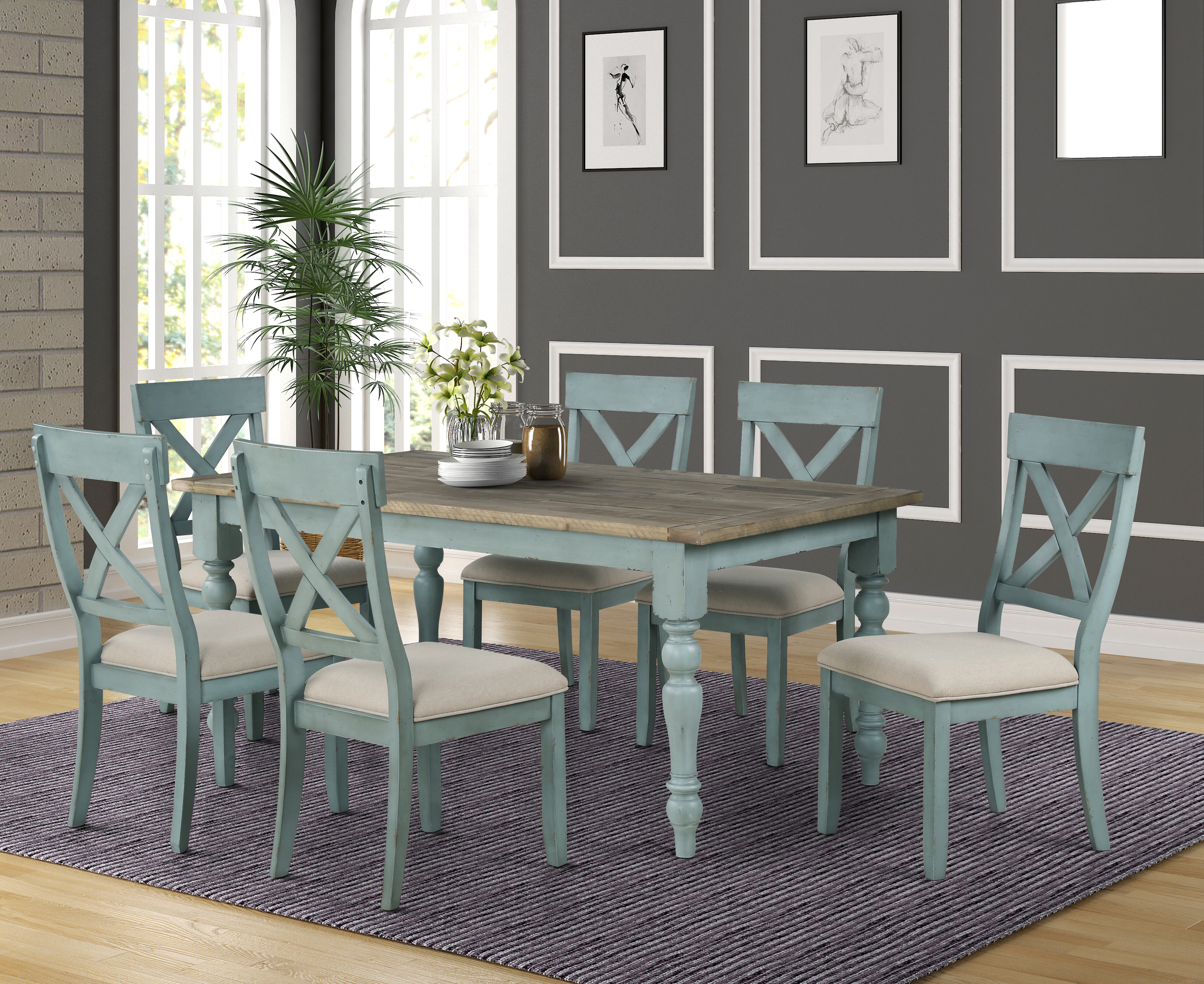6 Piece Kitchen Dining Room Sets You Ll Love In 2020 Wayfair