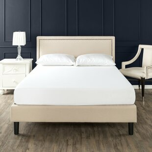Moraal Deluxe Nailhead Trim Upholstered Platform Bed by Alcott Hill