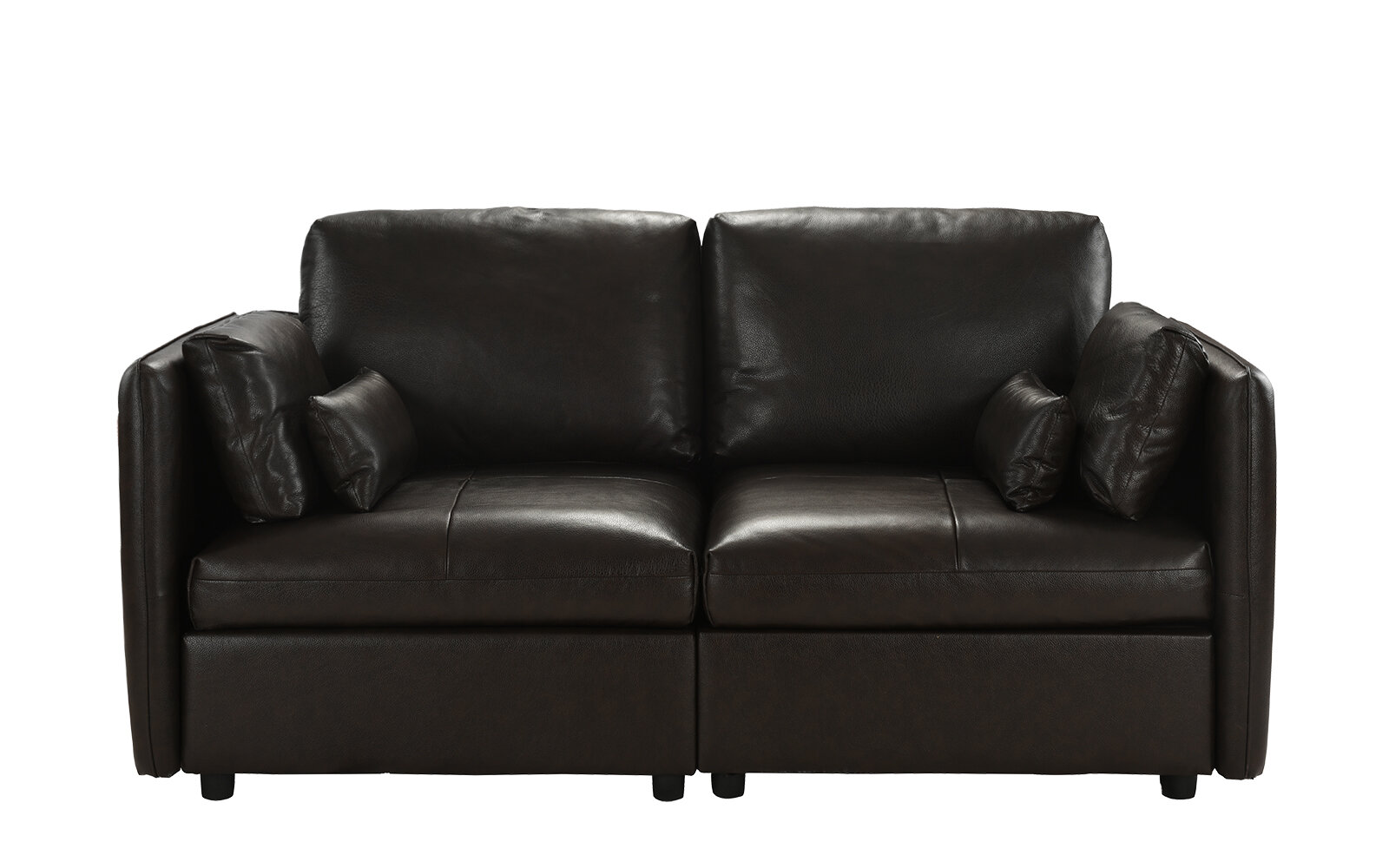 Pleasant Campo Leather Loveseat Gmtry Best Dining Table And Chair Ideas Images Gmtryco