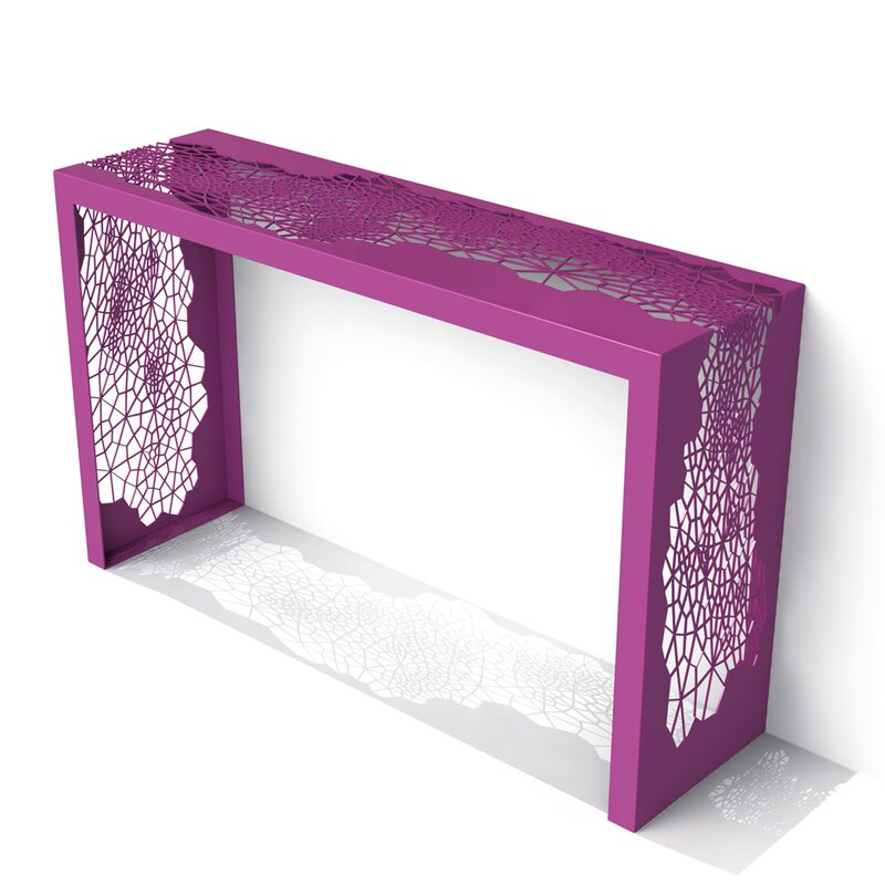 Hive Console Table purple console tables Discover Modern Purple Console Tables Hive Console Table