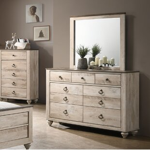 Church Street 9 Drawer Dresser with Mirror By Gracie Oaks