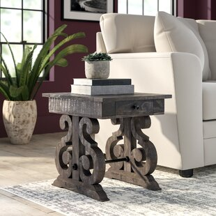 Best Price Ellenton End Table with Storage by Greyleigh