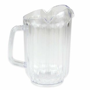 Polycarbonate Plastic Restaurant Water 60 oz. Pitcher