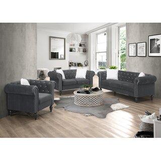 3 Pieces Living Room Set by House of Hampton SKU:CD104317 Details