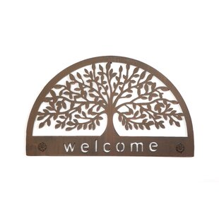 Tree Welcome Sign Wall Décor