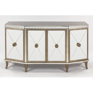 Cabinet 1 Shelf 4 Door Chest by Artmax