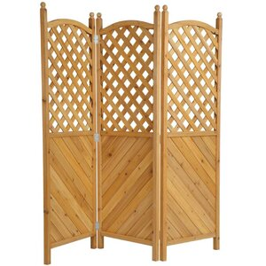 180cm x 181cm 3 Panel Room Divider