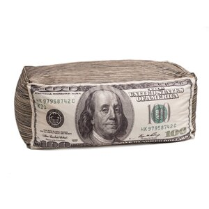 Money Bean Bag Chair by Wow Works LLC