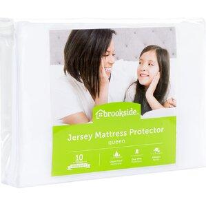 Jersey Hypoallergenic Waterproof Mattress Protector by Brookside