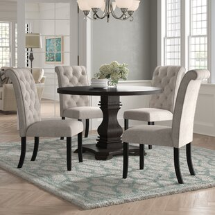 Cropper 5 Piece Dining Set by DarHome Co Amazing