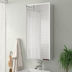 Failand Recessed Framed Medicine Cabinet with 3 Adjustable Shelves by Ebern Designs