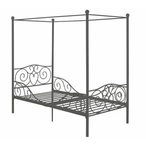 Kacey Twin Canopy Bed