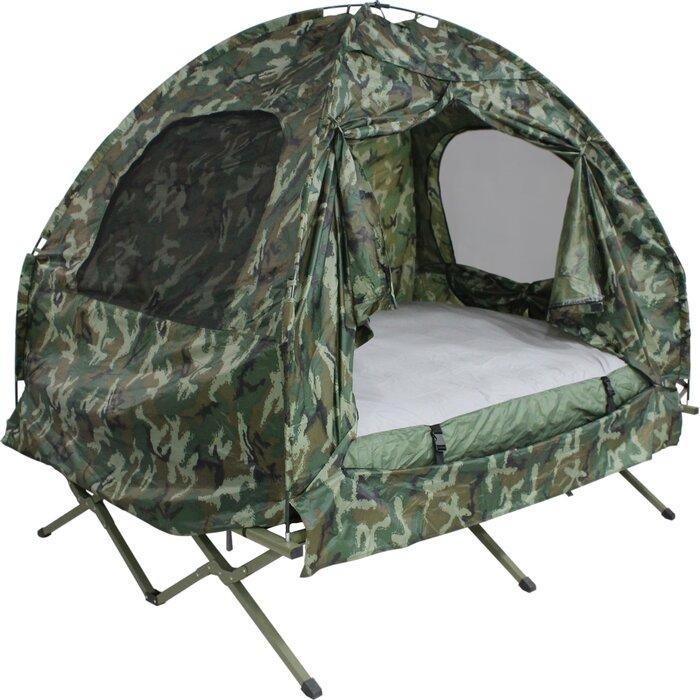 Camo C& Bed 2 Person Tent  sc 1 st  Wayfair & Dura Soleil Camo Camp Bed 2 Person Tent u0026 Reviews | Wayfair.ca