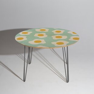 Hello Sayang Eggcellent Blue Egg Dining Table East Urban Home