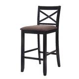 Broom Upholstered 30 Bar Stool by Red Barrel Studio®