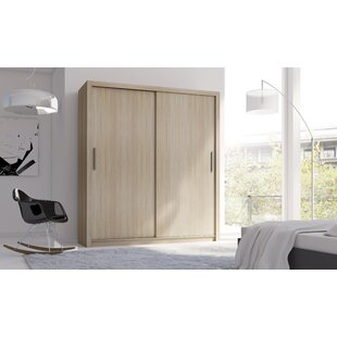 Ziggy 3 Door Sliding Wardrobe By Gracie Oaks