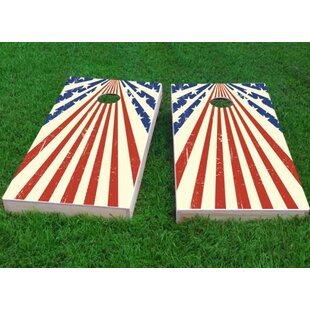 Custom Cornhole Boards Star Spangled Cornhole Game Set