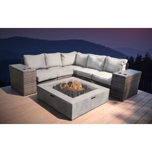 Crofoot 8 Piece Sectional Set with Cushions by Orren Ellis