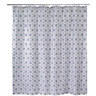 Bargain Dotted Circles Shower Curtain By Avanti Linens