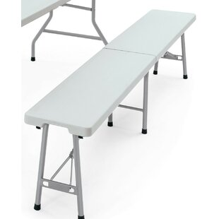 Colmesneil Plastic Bench By Sol 72 Outdoor