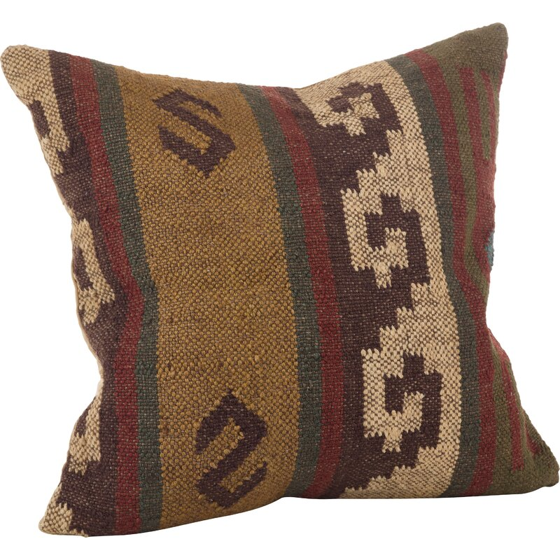 Esquer Wool Throw Pillow