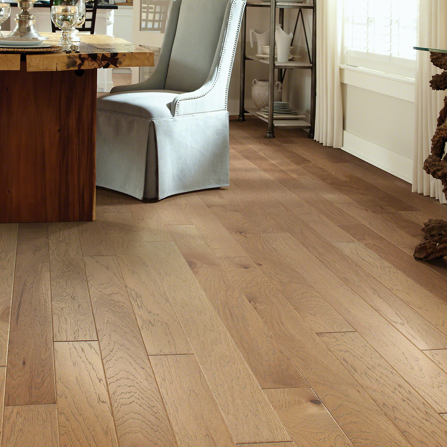 "Is Hickory A Good Wood For Floors: Shaw Floors Victorian Hickory 4.8"" Engineered Hickory"