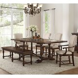 Lobos 6 Piece Extendable Dining Set by Canora Grey