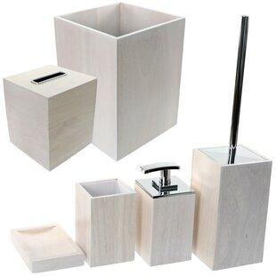 Gedy by Nameeks Papiro 6-Piece Bathroom Accessory Set