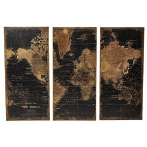 World Map Wood Wall Art top picks: map wall art you'll love | wayfair