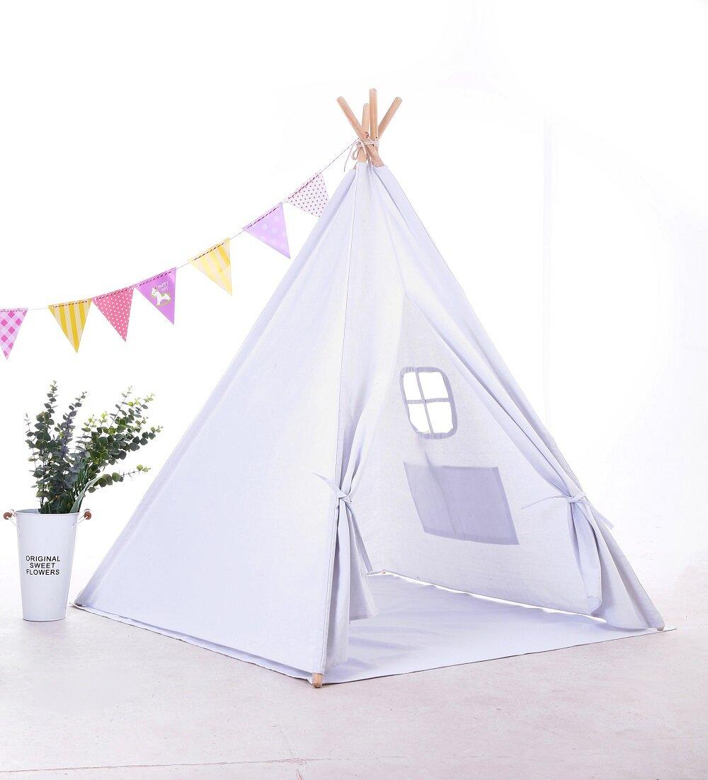 E Joy Triangular Play Tent With Carrying Bag Reviews Wayfair