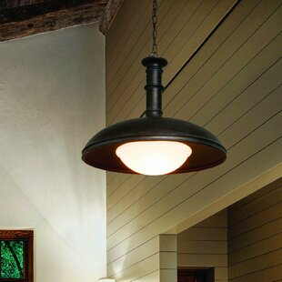 Troy Lighting Brewery 1-Light Inverted Pendant