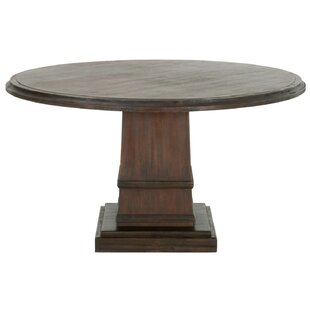 Gracie Oaks Theo Solid Wood Dining Table