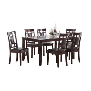 Anastagio 7 Piece Dining Set by Red Barre..
