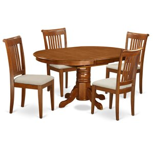 Attamore 5 Piece Dining Set by Darby Home Co