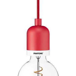 Pantone Deneb 1-Light Bulb Pendant