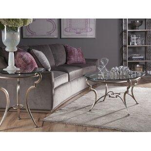 Artistica Home Colette 2 Piece Coffee Table Set