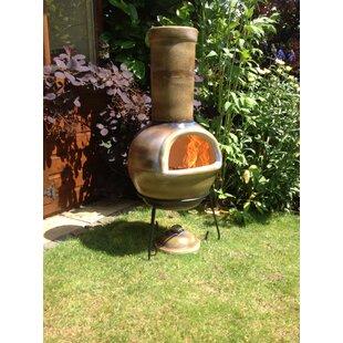 Discount Clay Charcoal/Wood Burning Chimenea